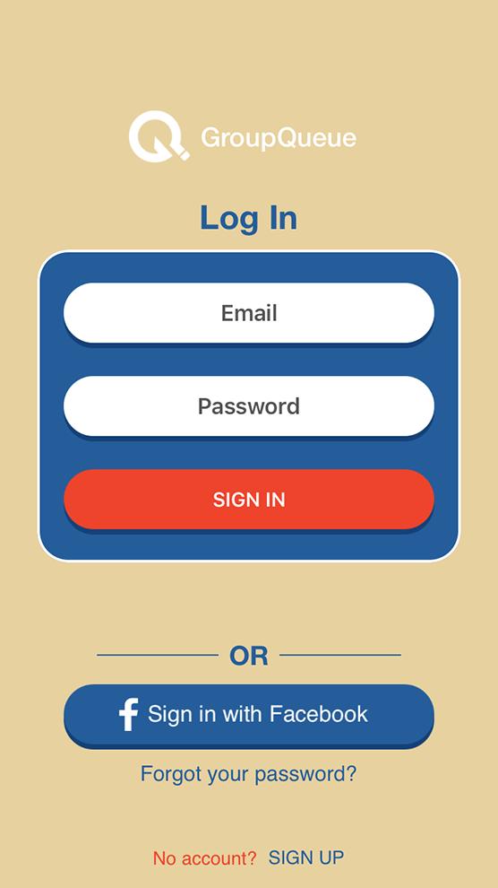 Group Queue Mobile App